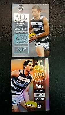 Select Milestone Geelong  X2 cards