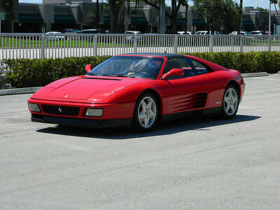 1991 Ferrari 348  1991 Ferrari 348 TS Targa Only 31k Miles Many Records Outstanding Collectible