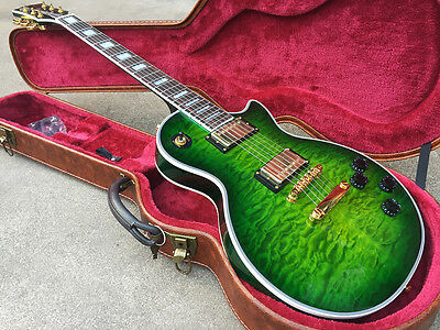 New Brand Shengze Unicorn Limited Edition Luxury Green Custom Electric Guitar