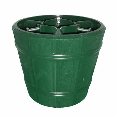 True Barrel Green Christmas Tree Stand for Real & Artificial Trees to 2.5m / 8ft