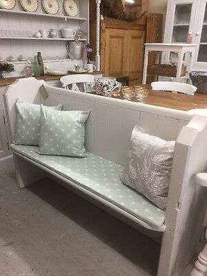 Victorian Antique Church Pew,Chair,Pitch Pine Bench.Kent Furniture Showroom
