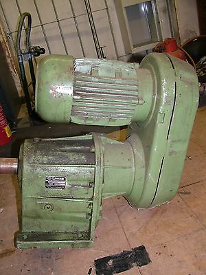 Infinitely variable speed motor gearbox 3 phase 3 kw