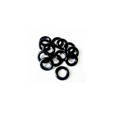 NBR Nitrile Oil Resistant Butadiene Rubber 1.5mm O-Ring Sealing Ring 5-12mm New