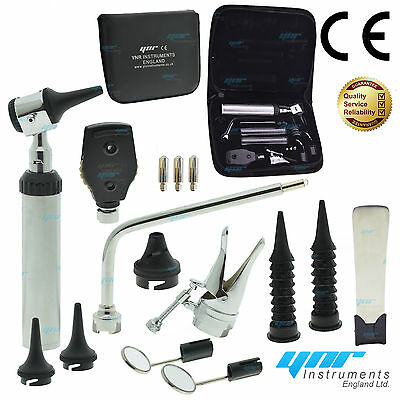 YNR Nasal Larynx Diagnostic Set DEL ENT Opthalmoscope Ophthalmoscope Otoscope