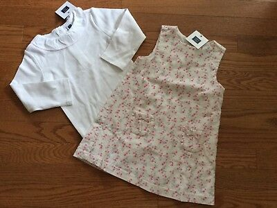 Janie And Jack Girl's NWT Outfit Set One Piece And Dress Size 18-24 Months