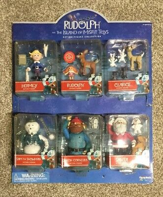 Rudolph And The Island Of Misfit Toys Action Figure Collection NIB