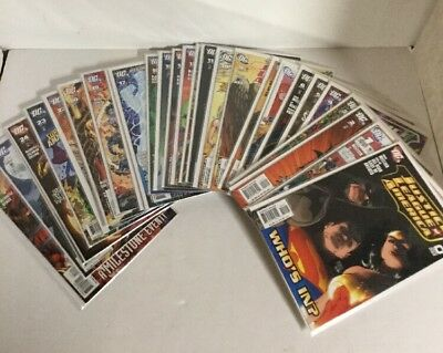 Justice League Of America 0 1-60 And Wedding Special Lot Set Run Nm Near Mint DC
