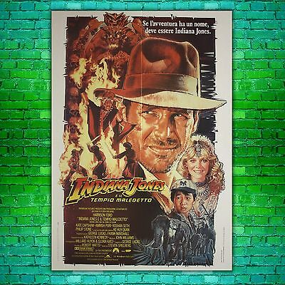 Original Movie Poster Indiana Jones and the Temple of Doom - 100x140 CM