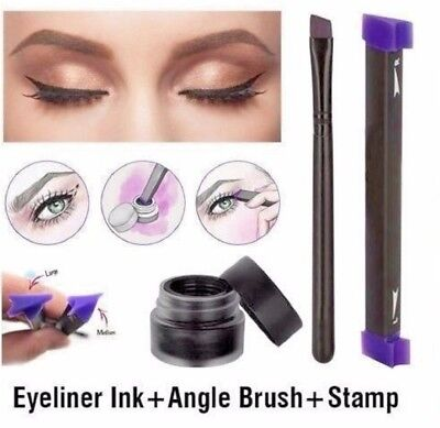 Vamp Stamp NEW Winged Black Eyeliner The Vamp Fashion Make-Up 2017