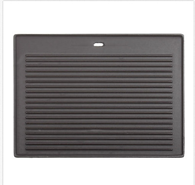 CosmoGrill Cast Iron Reversible Griddle Pan Plate BBQ