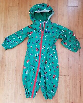 Baby Boys Mountain Warehouse Waterproof Puddlesuit 6-12 months