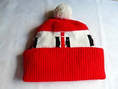 International Harvester Knit Winter Hat With The Ih Logo