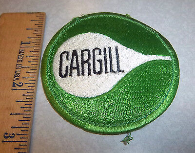 Cargill logo, Embroidered Patch, great collectible iron on patch, minnesota comp