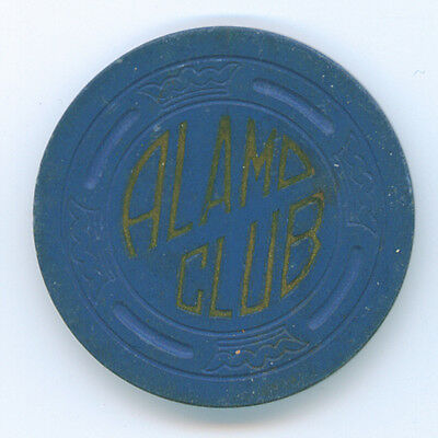 Alamo Club, Pinoche, NV $5 Gaming Chip TCR# N4972 TRKing