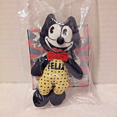 Felix the Cat Stuffed Plush Toy Wendy's Kids Collectibles 1996 NEW In BAG- NIB
