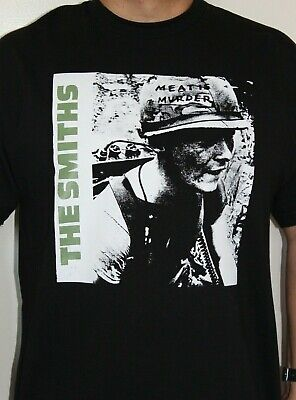 The Smiths Meat Is Murder Green Letters Shirt Music Rock