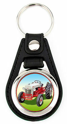 Ford 8N Tractor Richard Browne artwork Key fob -
