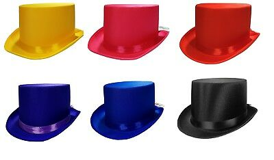 Tuxedo Silk Satin Top Hat Roaring 20s Adult Child Formal Costume Magician