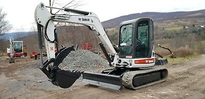 2015 Bobcat E32 Excavator Hydraulic Thumb Exceptional Condition Ready To Work!