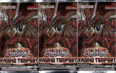 Yugioh | Raging Tempest RATE-DE | 3 Booster Deutsch YGO NEU & OVP