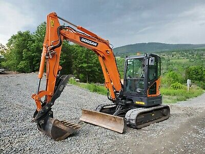 Bobcat E60 Excavator Hydraulic Thumb Loaded Nice! Ready 2 Work In Pa We Ship!