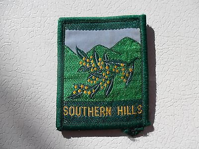 Southern Hills District Australian  Scout Cloth Badge #