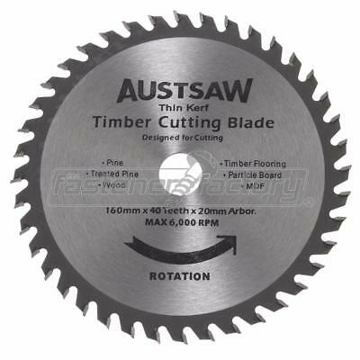 DISCONTINUED 6 1/4inch (160mm) 40T Thin Kerf Blade Timber Cutting Blade