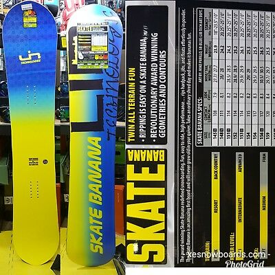 Brand new snowboards Lib tech 2017 Skate bananas (postage can be arranged)