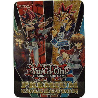 Yu-Gi-Oh! 2012 Premium Collection Tin 14 Foils per tin Brand New Factory Sealed!