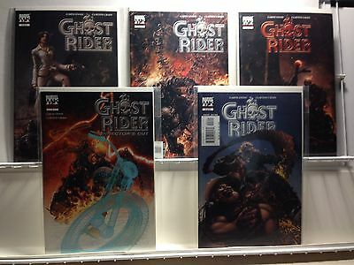 PRIMO:  GHOST RIDER #3 4 5 Special Edition 1 Director's Cut NM Marvel comics b12