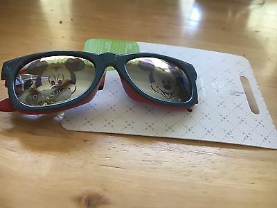 Disney Store Authentic Mickey Mouse Baby Boys Sunglasses 100% UV Protection NWT
