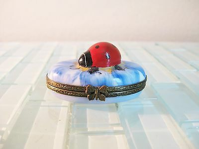 Limited Edition Limoges box France Peint Main Pierre Arquie Lady Bug # 65/750