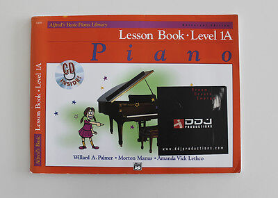 Alfred's Basic Piano Library, Lesson Book - Level 1A, CD inside