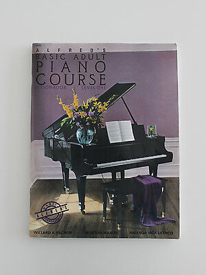 Alfred's Basic Adult Piano Course, Lesson Book-Level One