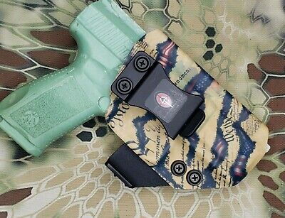 US Flag We The People IWB-Kydex Holster CCW Concealed-Carry With Internal Claw