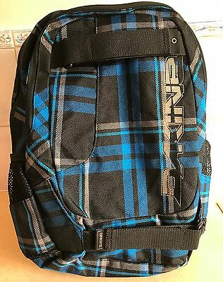 Dakine Division 27L Backpack Blue Black New Without Tags