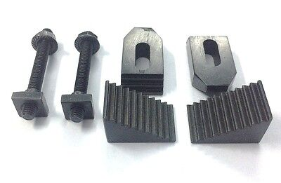 """M6 Clamp Kit Set 6 mm suitable for 3"""" (75 mm) & 4"""" (100 mm) Rotary Table"""