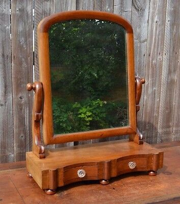 Lovely Victorian Mahogany Toilet Swing Dressing Table Mirror with Drawers