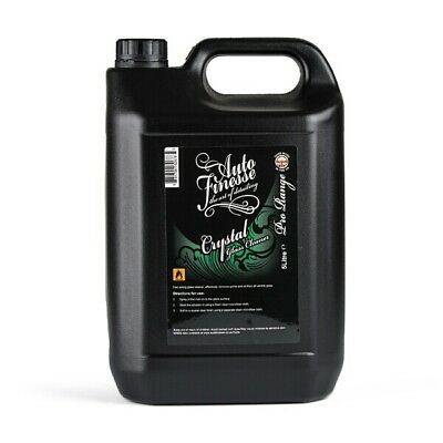 Auto Finesse CS5L 5L Crystal Glass Cleaner 5 Litre For Glass And Acrylic Windows
