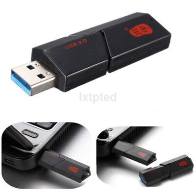 2 in 1 USB 3.0 High Speed Micro SD SDXC TF T-Flash Memory Card Reader Adapter A~