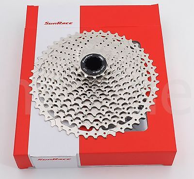 SunRace CSMS8 11-Speed 11-46T Cassette for MTB bike Shimano/Sram 11Speed Silver