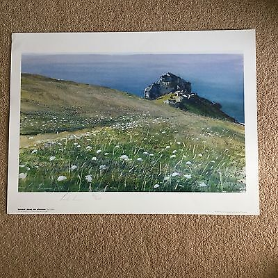 GURNARDS HEAD CORNWALL - LIMITED SIGNED EDITION PRINT by PAUL LEWIN