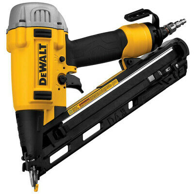 "DEWALT Precision Point 34-Deg. 15G 2-1/2"" DA Finish Nailer DWFP72155R Recon"
