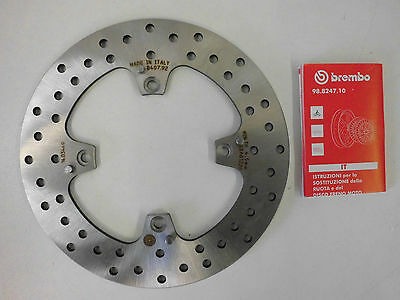 Brembo Bremsscheibe hinten Ducati Monster 796 800 998 1000 1100 S2R S4R S4RS M4