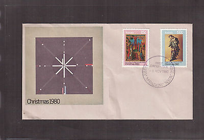 Australia 1980 First Day Cover, # 756 & 758 Christmas !!