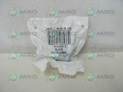 Anvil 1-1/4X1/2 Hex Bushing *new In Factory Bag*