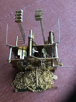 Hermle Long case Westminster Chime Movement 451-053 H For Spares Or Repair