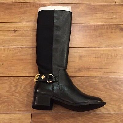 4c9ea0aac51 STEVEN MADDEN TALL Leather Riding Boots NWOT