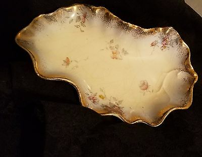 Antique Porcelain Candy/Relish Dish By Warwick