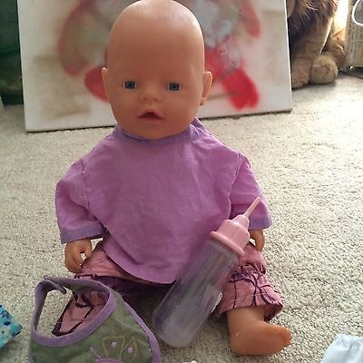 Baby Born Doll - NEW ZAPF CREATIONS with accessories and clothes